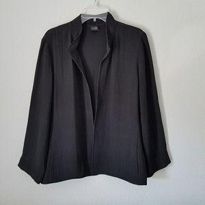 Eileen Fisher Open Front Blazer Jacket